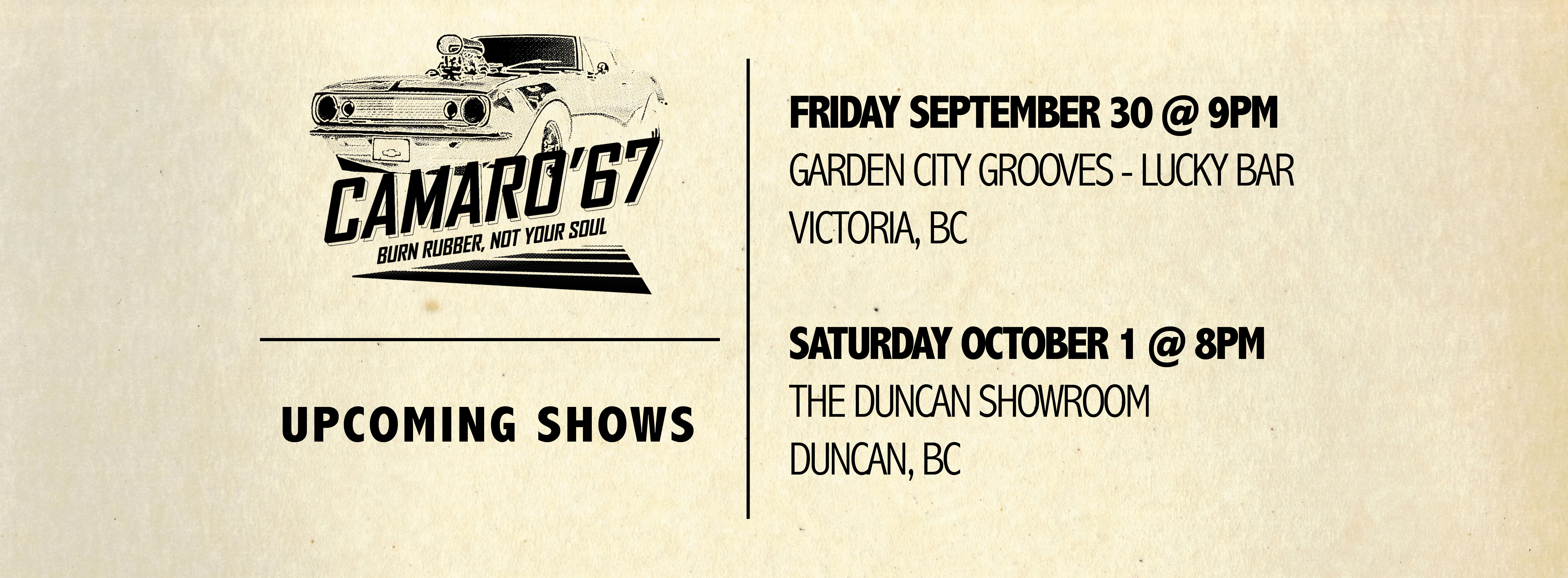 Vancouver Island Shows